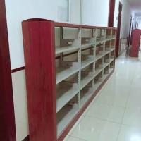 生产销售书架 实木简约现在双面书架 图书馆钢制书架 可定制