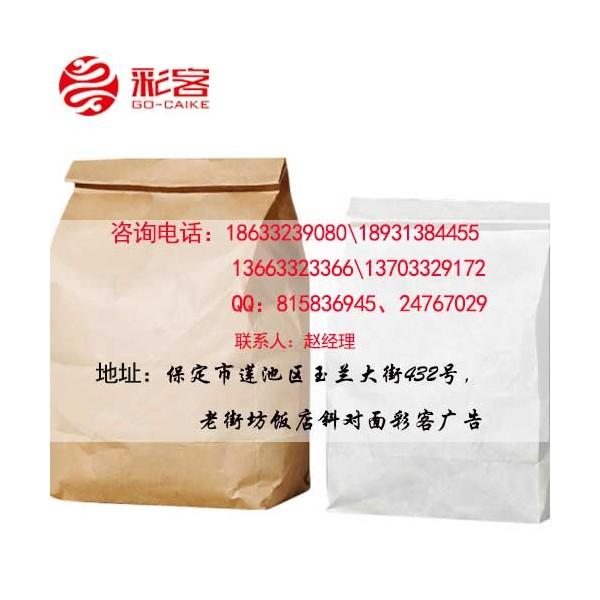 食品纸质包装袋设计印刷彩客印logo