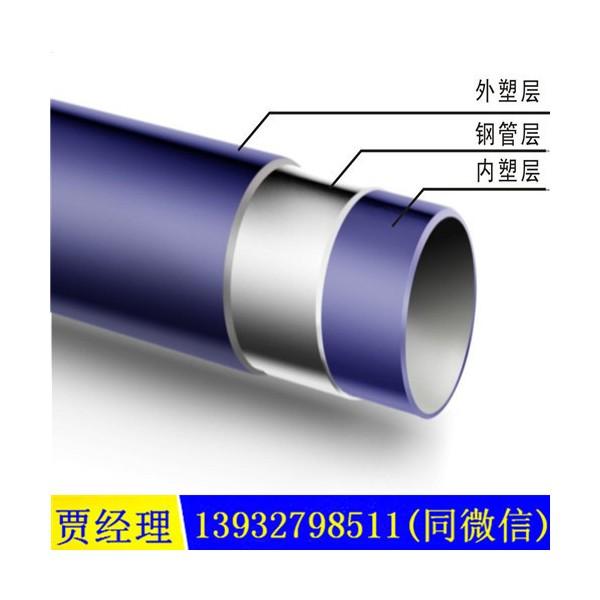 燃气用涂塑钢管厂家价格