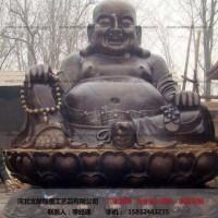 弥勒佛雕塑-大型铜佛像-文禄