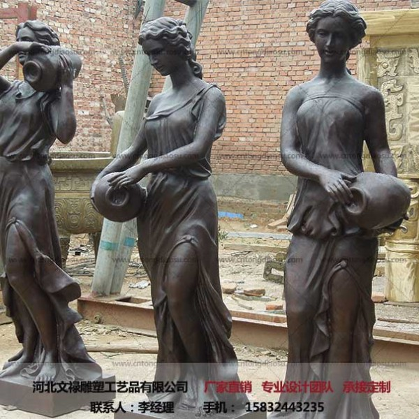 大型城市雕塑销售-铸铜雕塑-文禄