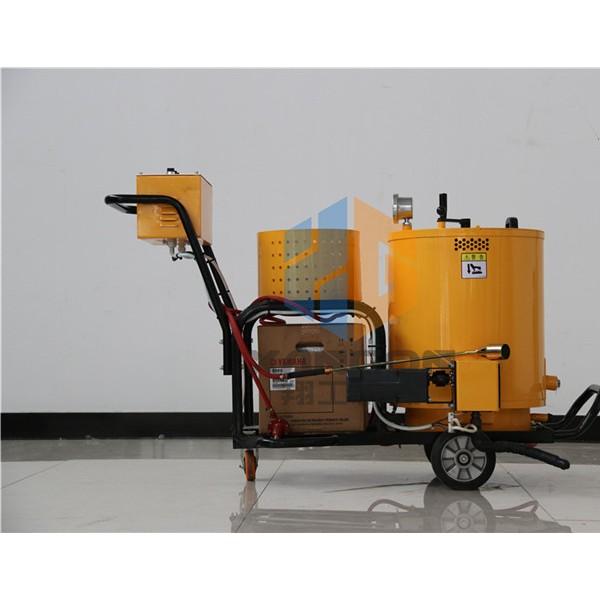 手推式沥青灌缝机 小型路面灌缝机 路面修补设备60L灌缝机