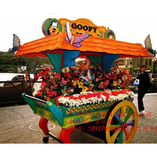 主题公园售卖亭,商业街移动餐车,广场商品小吃挂件售货车