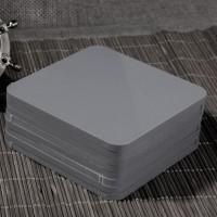 灰色高密度PVC塑料硬板 耐酸碱PVC塑料板  量大从优