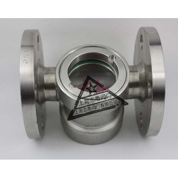 化工标准法兰视镜,化工管道视镜,直通视流器