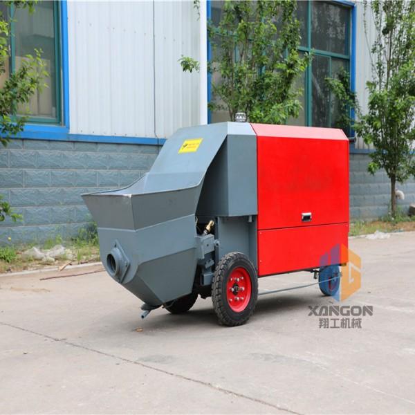 厂家微型二次构造泵小型砂浆输送泵电力输送泵远距离输送泵