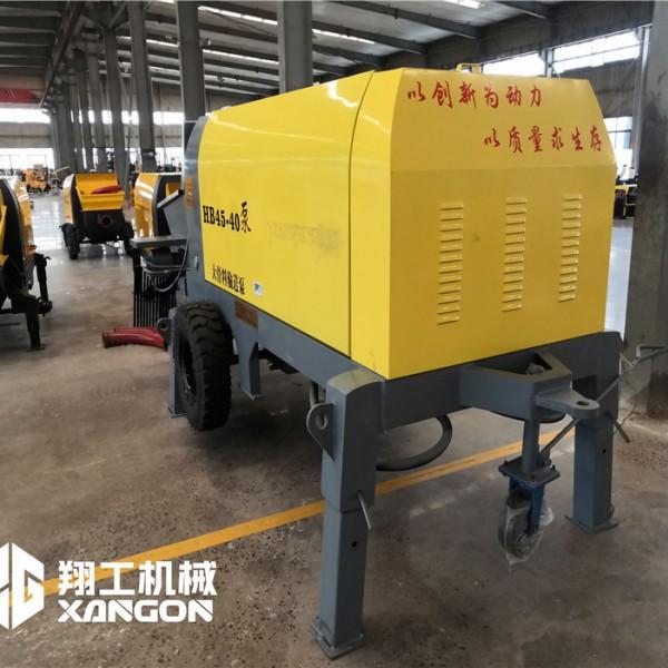 山东翔工机械厂混凝土输送泵二次构造泵等产品专业生产加工的公司