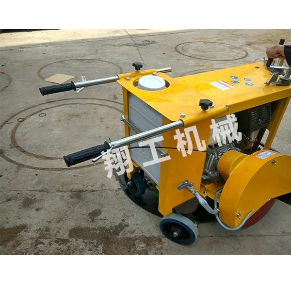 路面井盖切割机每小时可以切割几个圆