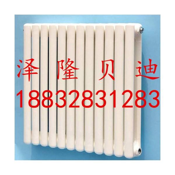 直销钢制柱形散热器壁挂式钢二柱暖气片可定制