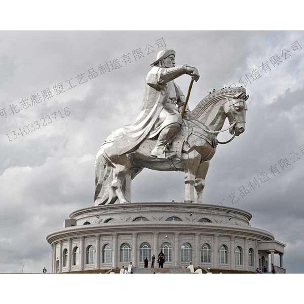 广场雕塑_河北志彪铜雕订做