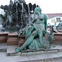 喷泉雕塑_大型喷泉雕塑订做_河北文禄铜雕厂